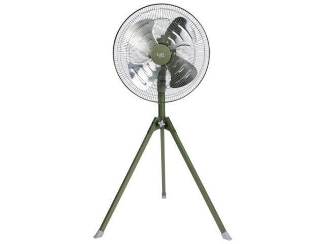 トラスコ中山 扇風機 ルフトハーフェン TFLHA-45S-OD [オリーブドラブ] [タイプ:扇風機 スタイル:据置き 羽根径:44cm] 【】【人気】【売れ筋】【価格】