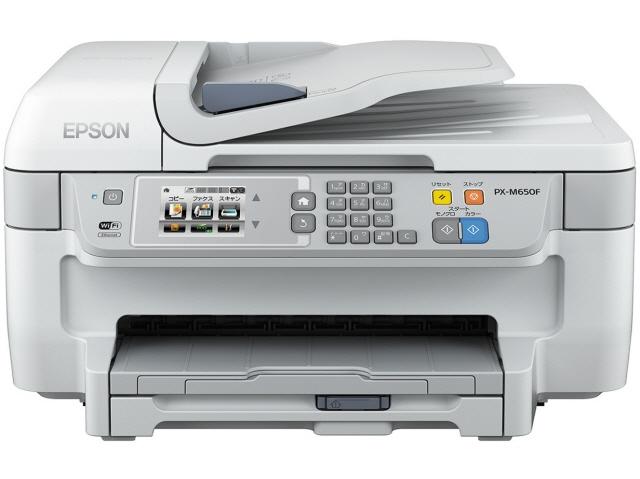 【代引不可】EPSON プリンタ ビジネスインクジェット PX-M650F [タイプ:インクジェット 最大用紙サイズ:A4 解像度:4800x1200dpi 機能:FAX/コピー/スキャナ] 【】 【人気】 【売れ筋】【価格】【半端ないって】