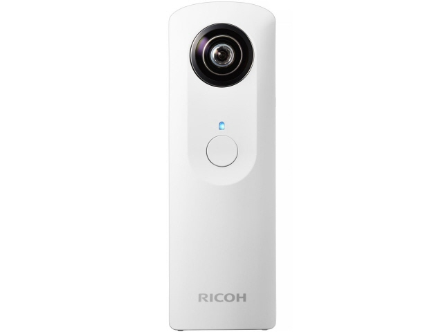 Ricoh digital camera RICOH THETA m15 [White] [number of shots: 200]