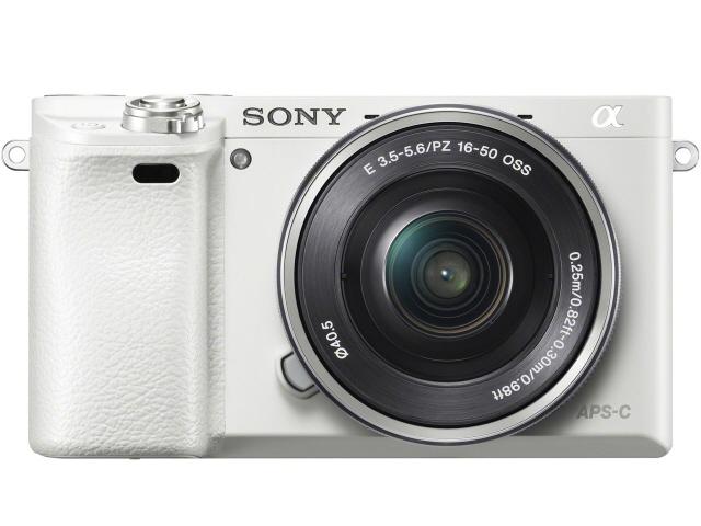 SONY デジタル一眼カメラ α6000 ILCE-6000L パワーズームレンズキット [ホワイト] [転送速度:10/100/1000Mbps ポート数:5] 【】 【人気】 【売れ筋】【価格】【半端ないって】