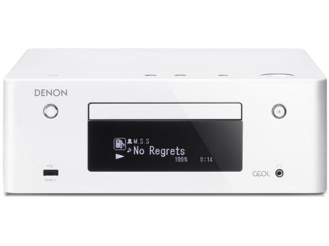 DENON コンポ RCD-N9-W [ホワイト] [対応メディア:CD/CD-R/RW 最大出力:160W ハイレゾ:○] 【】 【人気】 【売れ筋】【価格】【半端ないって】