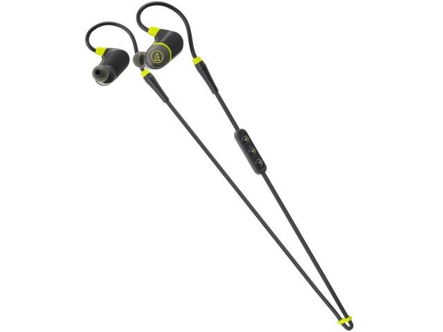 オーディオテクニカ ヘッドセット ATH-SPORT4 BK [ブラック] [ヘッドホンタイプ:カナル型 片耳用/両耳用:両耳用 ケーブル長さ:0.4m] 【】 【人気】 【売れ筋】【価格】【半端ないって】