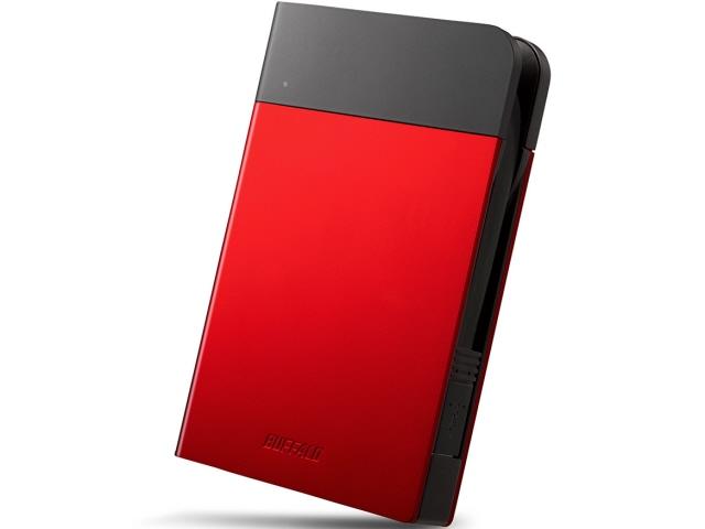 バッファロー 外付け ハードディスク MiniStation HD-PZN1.0U3-R [レッド] [容量:1TB インターフェース:USB3.0/USB2.0] 【】【人気】【売れ筋】【価格】