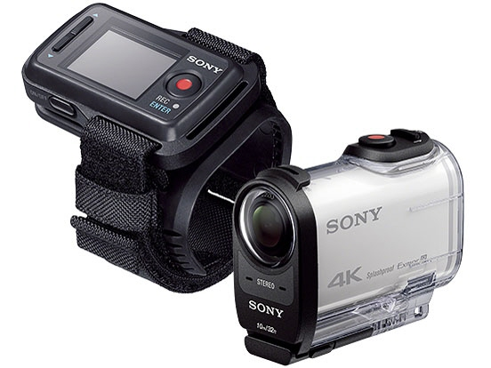 SONY camcorder FDR-X1000VR [action camera shooting time: 115 minutes weight: 89 g camera image device: CMOS 1/2.3 type video effective pixels: 8800000 paintings great]