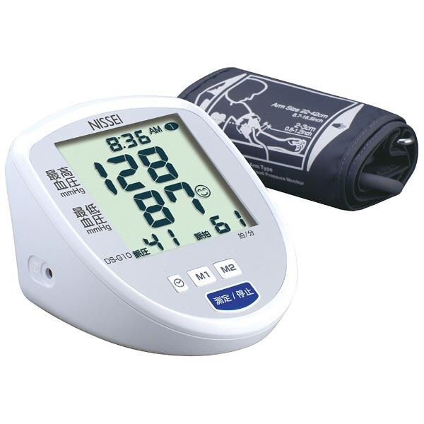 日本精密測器 血圧計 DS-S10 [計測方式:上腕式(カフ式) 電源:AC/乾電池 メモリー機能:本体メモリー:60回分の測定結果とその平均値×2/データ送信用メモリー:20回分の測定結果とその平均値×5] 【】【人気】【売れ筋】【価格】
