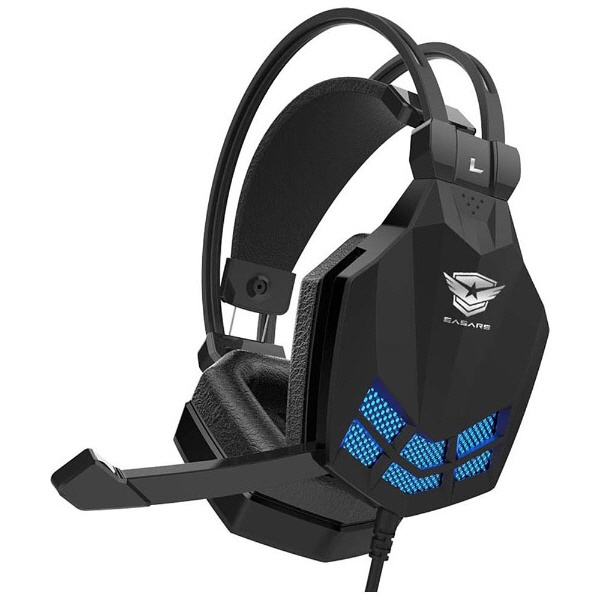 EASARS headset Tornado [headphone type: overhead plug shape: USB for ear / ears: ears for cable length:2.2m]