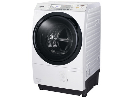 Panasonic washing machine NA-VX7600L-W [Crystal White] [type of washing drying machine drum washing machine-style: oblique type opening and closing: left open washing capacity: 10 kg drying capacity: 6 kg]