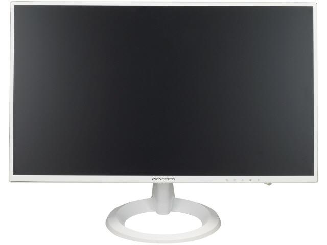 プリンストン 液晶モニタ・液晶ディスプレイ PTFWJA-24W [23.8インチ ホワイト] [モニタサイズ:23.8インチ モニタタイプ:ワイド 解像度(規格):フルHD(1920x1080) 入力端子:DVIx1/D-Subx1/HDMIx1]