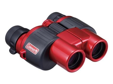 ビクセン 双眼鏡 コールマン M8-24x25 [レッド] [倍率:8~24倍 対物レンズ有効径:25mm 実視界:4.5~2.3° 明るさ:9.6~1 重量:310g] 【】 【人気】 【売れ筋】【価格】【半端ないって】