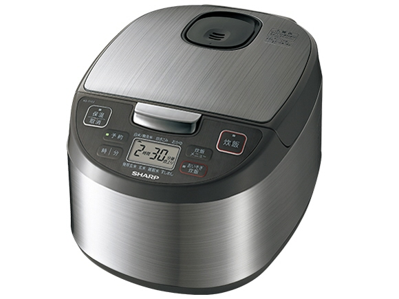 【キャッシュレス 5% 還元】 シャープ 炊飯器 KS-S10J [炊飯量:5.5合 タイプ:マイコン炊飯器 内釜:黒厚釜] 【】 【人気】 【売れ筋】【価格】
