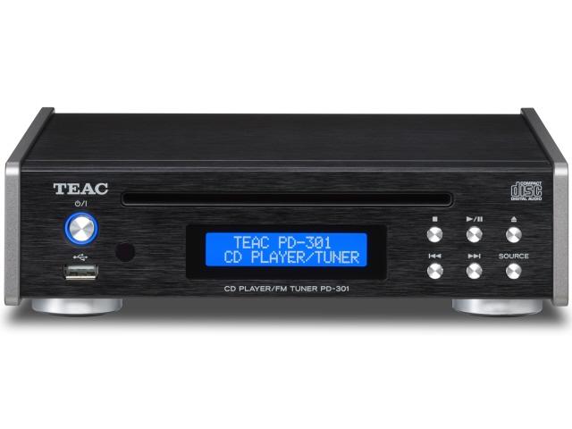 TEAC CDプレーヤー PD-301-B [ブラック] [周波数特性(最小):20Hz 周波数特性(最大):20KHz MP3:○] 【】 【人気】 【売れ筋】【価格】【半端ないって】