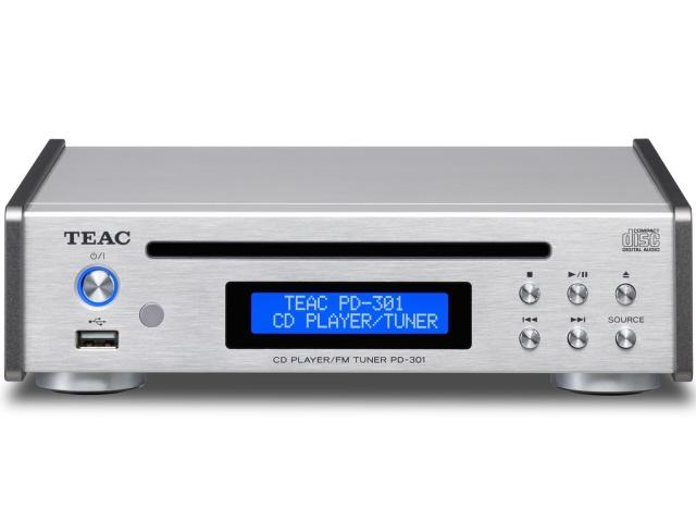 TEAC CDプレーヤー PD-301-S [シルバー] [周波数特性(最小):20Hz 周波数特性(最大):20KHz MP3:○] 【】 【人気】 【売れ筋】【価格】【半端ないって】