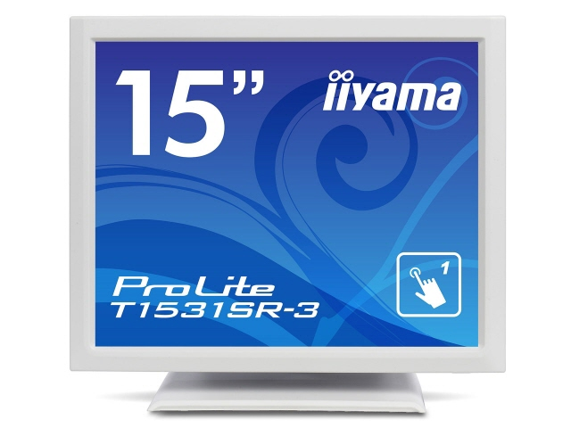 IIYAMA LCD monitors, LCD display ProLite T 1531 SR-3 T1531SR-W3 [15-inch pure white] [size: 15 inch monitor Tip: square resolution (standard):XGA input terminal:DVIx1/D-Subx1/USBx1]