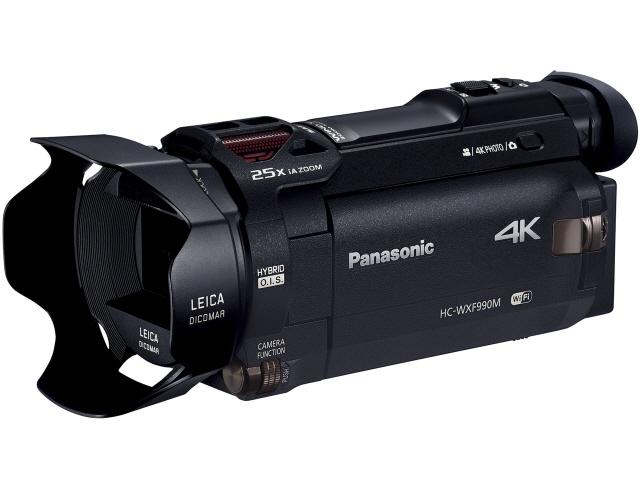 パナソニック ビデオカメラ HC-WXF990M [タイプ:ハンディカメラ 画質:4K 撮影時間:215分 本体重量:405g 撮像素子:MOS 1/2.3型 動画有効画素数:829万画素] 【】 【人気】 【売れ筋】【価格】【半端ないって】