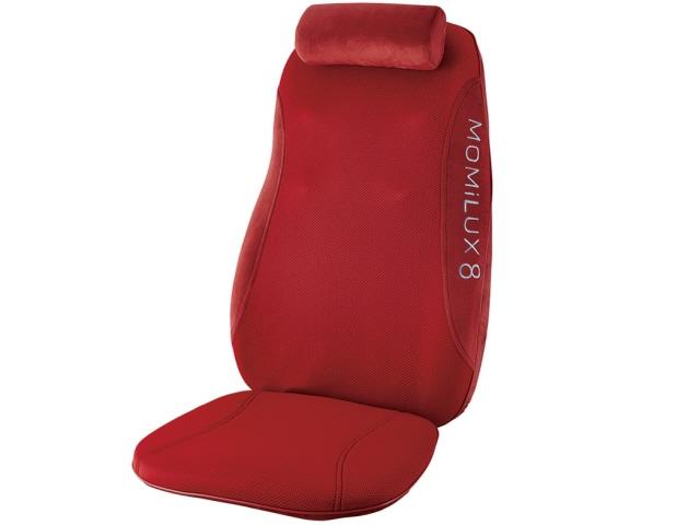 【代引不可】ドウシシャ マッサージ器 MOMiLUX8 DMS-1501RD [RED] [タイプ:シートマッサージ 座面マッサージ:○] 【】 【人気】 【売れ筋】【価格】【半端ないって】
