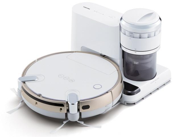 東芝 掃除機 トルネオ ロボ VC-RVS2(W) [グランホワイト] [タイプ:ロボット 集じん容積:0.2L] 【】【人気】【売れ筋】【価格】