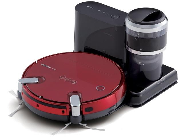 東芝 掃除機 トルネオ ロボ VC-RVS2(R) [グランレッド] [タイプ:ロボット 集じん容積:0.2L] 【】 【人気】 【売れ筋】【価格】【半端ないって】