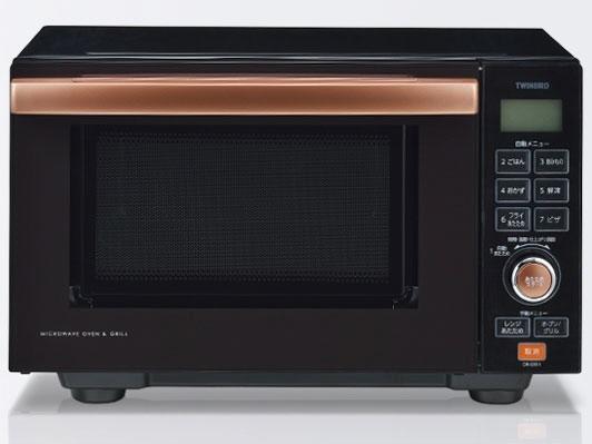 ツインバード 電子オーブンレンジ DR-E851BR [タイプ:電子オーブンレンジ 庫内容量:18L 最大レンジ出力:600W] 【】 【人気】 【売れ筋】【価格】【半端ないって】