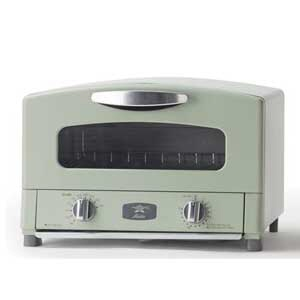 日本エー・アイ・シー トースター Aladdin CAT-GS13A(G) [アラジングリーン] [タイプ:オーブン 同時トースト数:2枚 消費電力:1250W] 【】 【人気】 【売れ筋】【価格】