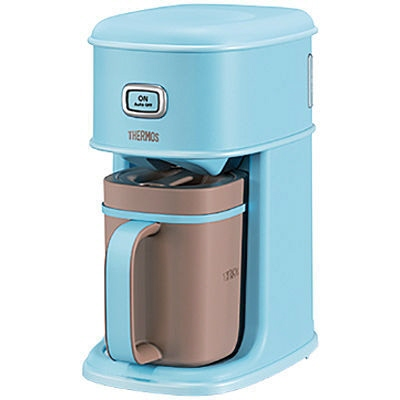 【キャッシュレス 5% 還元】 サーモス コーヒーメーカー Purezza アイスコーヒーメーカー ECI-660-MBL [ミントブルー] [容量:5杯 フィルター:紙フィルター コーヒー:○] 【】 【人気】 【売れ筋】【価格】
