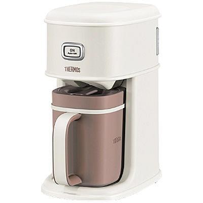 サーモス コーヒーメーカー Purezza アイスコーヒーメーカー ECI-660-VWH [バニラホワイト] [容量:5杯 フィルター:紙フィルター コーヒー:○] 【】 【人気】 【売れ筋】【価格】【半端ないって】