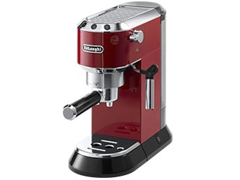 デロンギ コーヒーメーカー デディカ EC680R [レッド] [容量:2杯 エスプレッソ:○ カプチーノ:○] 【】 【人気】 【売れ筋】【価格】
