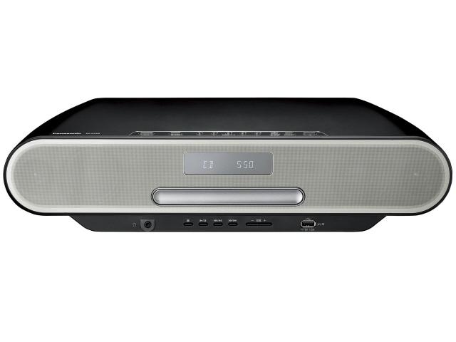 パナソニック コンポ SC-RS55-K [ブラック] [対応メディア:CD/CD-R/RW 最大出力:40W ハイレゾ:○] 【】 【人気】 【売れ筋】【価格】【半端ないって】