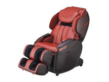 Wisteria Medical Care Device Massage Chair CYBER RELAX AS 780 (RB) [red X  Brown]