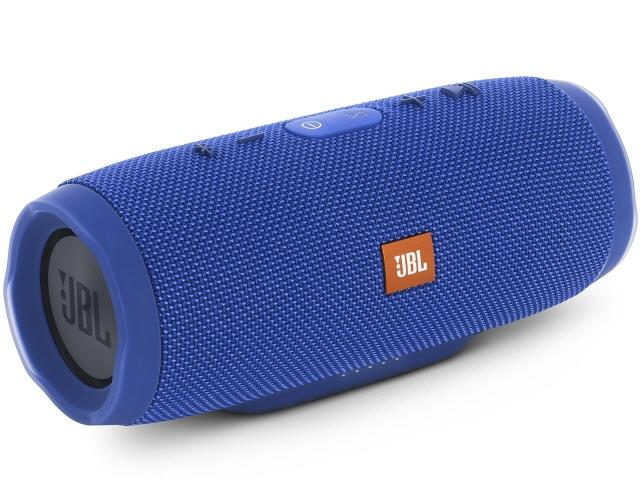 IPX7相当の防水性能を備えたチューブ型Bluetoothスピーカー(ブルー) 【キャッシュレス 5% 還元】 JBL Bluetoothスピーカー CHARGE3 [ブルー] [Bluetooth:○ 駆動時間:ワイヤレス音楽再生:20時間] 【】 【人気】 【売れ筋】【価格】