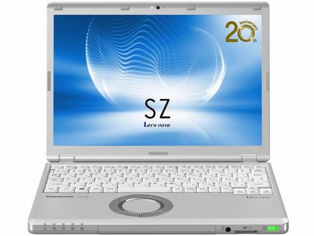 【キャッシュレス 5% 還元】 パナソニック ノートパソコン Let's note SZ5 CF-SZ5PDYVS [画面サイズ:12.1インチ CPU:Core i5 6300U(Skylake)/2.4GHz/2コア CPUスコア:4383 ストレージ容量:SSD:256GB メモリ容量:8GB OS:Windows 10 Pro 64bit]