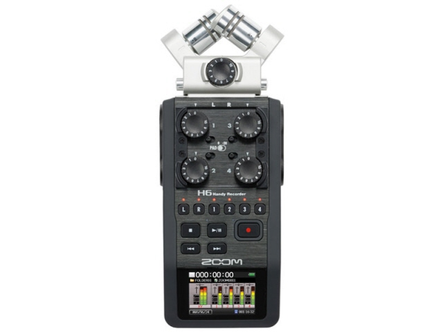 ZOOM ICレコーダー Handy Recorder H6 [最大録音時間:34.43時間] 【】 【人気】 【売れ筋】【価格】【半端ないって】