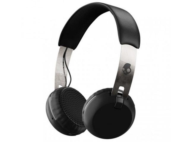 【】 SKULLCANDY Grind イヤホン・ヘッドホン [Black/Chrome/Black] 駆動方式:ダイナミック型] 装着方式:両耳 Wireless 【売れ筋】【価格】【半端ないって】 [タイプ:オーバーヘッド 【人気】