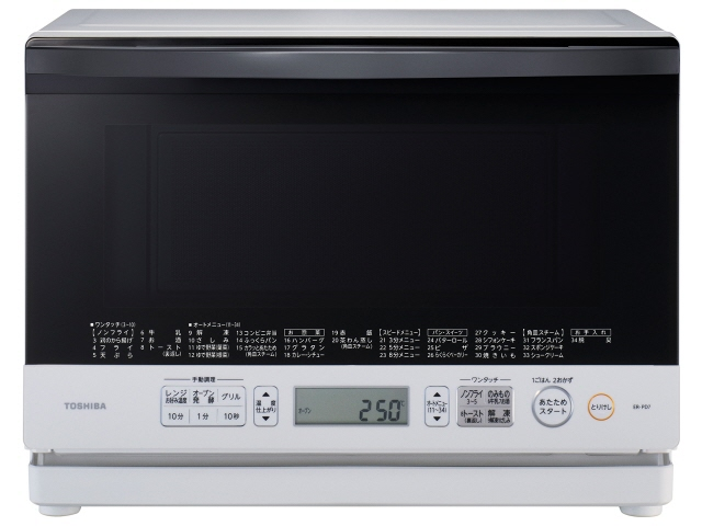 Toshiba electronic oven stone kiln dome ER-PD7 (W) [Grand White] [type: electronic oven oven capacity: 26 L maximum microwave power output: 1000 W]