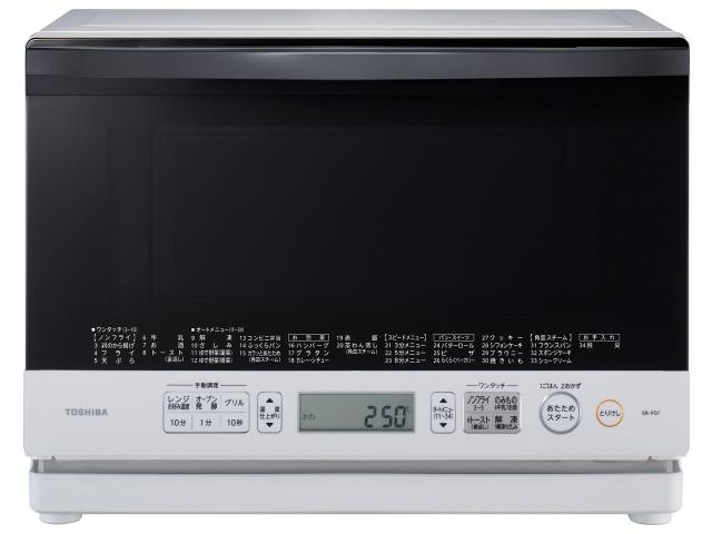 토시바 전자 오븐 레인지 참숯을 제조하기 위한 화덕 돔 ER-PD7(W) [그란화이트] [타입:전자 오븐 레인지 창고내 용량:26 L최대 레인지 출력:1000 W]