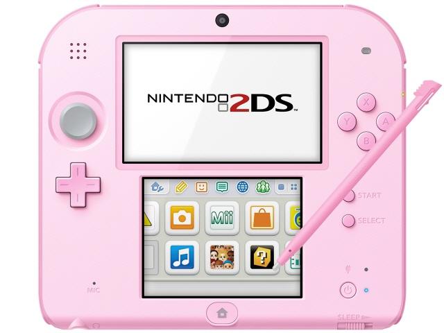 任天堂 ゲーム機 ニンテンドー2DS [ピンク] 【】【人気】【売れ筋】【価格】