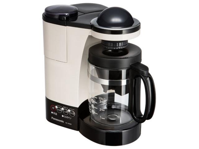 【キャッシュレス 5% 還元】 パナソニック コーヒーメーカー NC-R400-C [カフェオレ] [容量:5杯 フィルター:紙フィルター コーヒー:○] 【】 【人気】 【売れ筋】【価格】