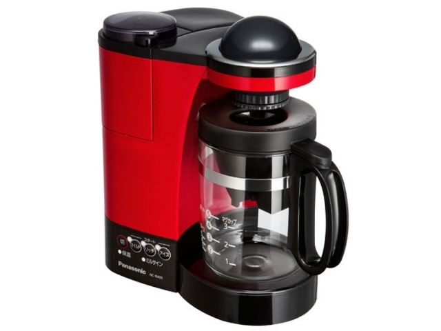 パナソニック コーヒーメーカー NC-R400-R [レッド] [容量:5杯 フィルター:紙フィルター コーヒー:○] 【】【人気】【売れ筋】【価格】