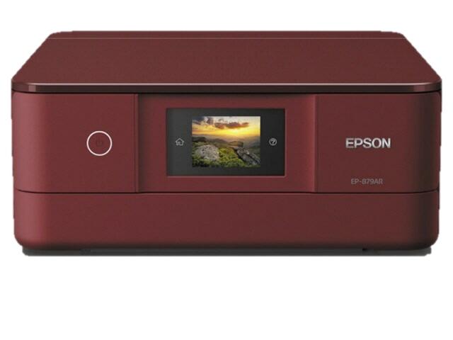 EPSON プリンタ カラリオ EP-879AR [レッド] [タイプ:インクジェット 最大用紙サイズ:A4 解像度:5760x1440dpi 機能:コピー/スキャナ] 【】 【人気】 【売れ筋】【価格】【半端ないって】