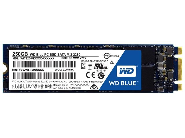 WESTERN DIGITAL SSD WD Blue WDS250G1B0B [容量:250GB 規格サイズ:M.2 (Type2280) インターフェイス:Serial ATA 6Gb/s タイプ:TLC] 【】 【人気】 【売れ筋】【価格】【半端ないって】