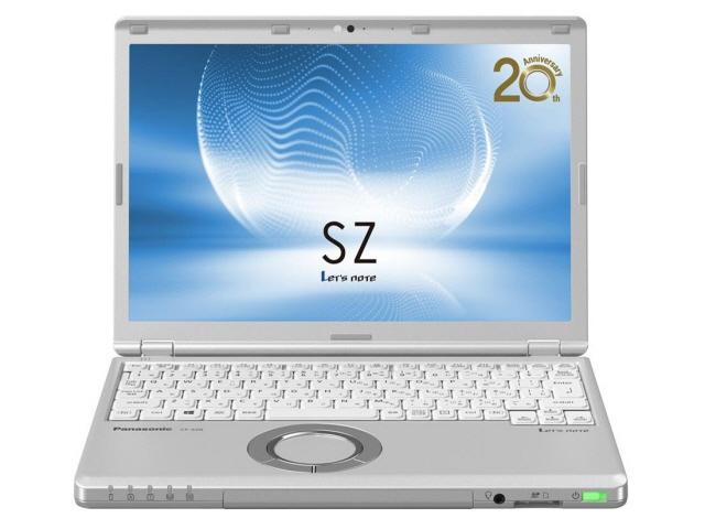 Panasonic note PC Let's note SZ6 CF-SZ6EDYPR [liquid crystalline size: 12.1 inches of CPU's: Core i5 7,200 U (Kaby Lake)/2.5GHz/2 core CPU score: 4717 SSD capacity: 256GB memory capacity: the 8GB OS: Windows 10 Home 64bit]