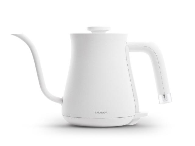バルミューダ 電気ケトル The Pot K02A-WH [ホワイト] [タイプ:電気ケトル 容量:0.6L 重さ:0.6kg] 【】【人気】【売れ筋】【価格】