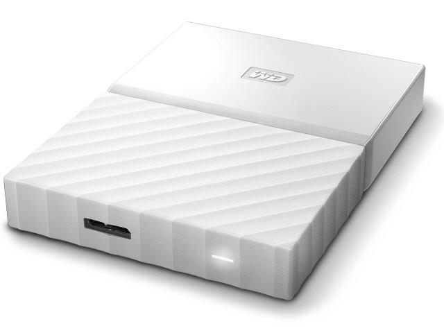 WESTERN DIGITAL 外付け ハードディスク My Passport WDBYNN0010BWT [ホワイト] [容量:1TB インターフェース:USB3.0/USB2.0] 【】 【人気】 【売れ筋】【価格】【半端ないって】