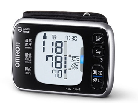 OMRON sphygmomanometer HEM-6324T [a measurement method: a wrist type power supply: dry cell memory function: two *100 time]