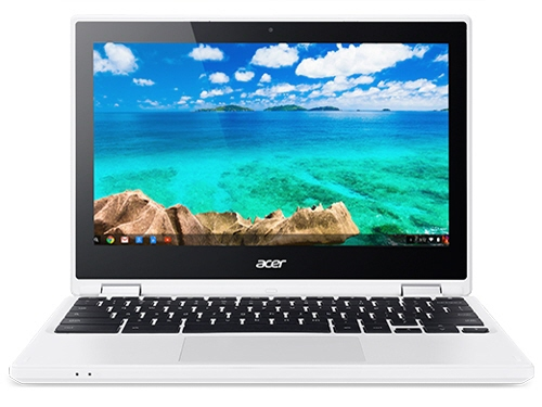 Acer ノートパソコン Chromebook R 11 CB5-132T-A14N [デニムホワイト] [液晶サイズ:11.6インチ CPU:Celeron Dual-Core N3060(Braswell)/1.6GHz/2コア CPUスコア:984 ストレージ容量:eMMC:32GB メモリ容量:4GB OS:Chrome OS]