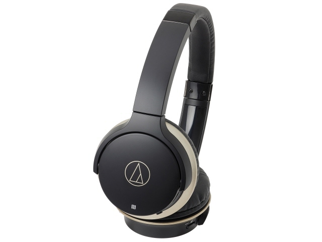 オーディオテクニカ イヤホン・ヘッドホン Sound Reality ATH-AR3BT BK [ブラック・ゴールド] [タイプ:オーバーヘッド 装着方式:両耳 構造:密閉型 駆動方式:ダイナミック型 再生周波数帯域:5Hz~35kHz]