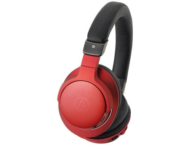 オーディオテクニカ イヤホン・ヘッドホン Sound Reality ATH-AR5BT RD [ボルドーレッド] [タイプ:オーバーヘッド 装着方式:両耳 構造:密閉型 駆動方式:ダイナミック型 再生周波数帯域:5Hz~40kHz ハイレゾ:○] 【】 【人気】 【売れ筋】【価格】