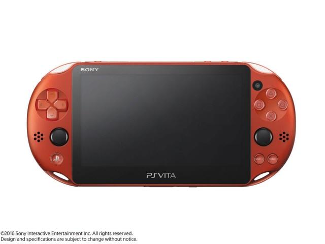SONY ゲーム機 PlayStation Vita (プレイステーション ヴィータ) Wi-Fiモデル PCH-2000 ZA26 [メタリック・レッド] 【】 【人気】 【売れ筋】【価格】【半端ないって】
