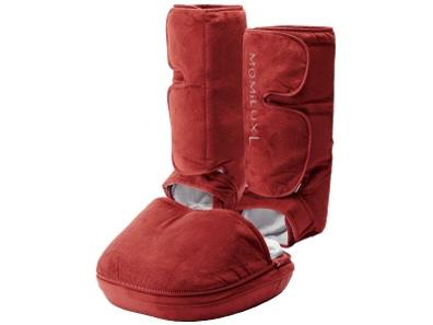 ドウシシャ マッサージ器 MOMiLUX L DFM-1601 [RED] [タイプ:フットマッサージ マッサージ部位:脚/足裏 寸法:32x22x33cm] 【】 【人気】 【売れ筋】【価格】