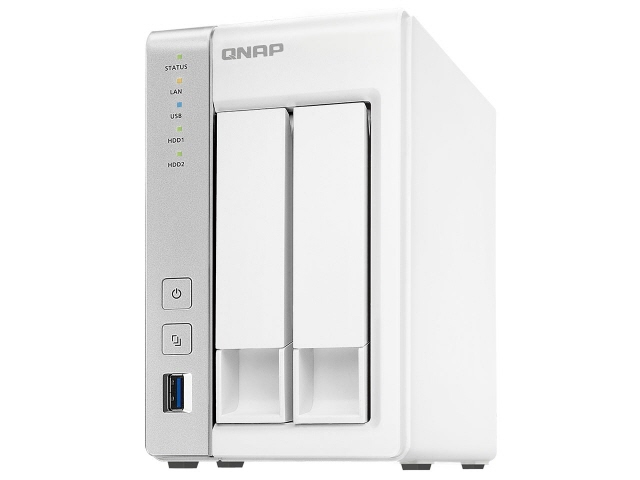 【キャッシュレス 5% 還元】 QNAP NAS TS-231P [ドライブベイ数:HDD/SSDx2 DLNA:○] 【】 【人気】 【売れ筋】【価格】