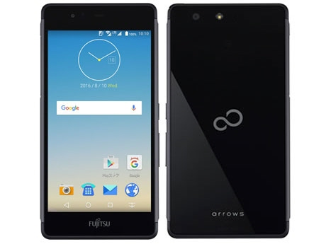 Fujitsu smartphone arrows M03 SIM-free [Black] [) OS kind that there is no SIM-free (carrier contract in a carrier: Android 6.0 sale time: in the summer of 2016 model screen size: 5 inches of built-in memory: ROM 16GB RAM 2GB battery capacity: 2580mAh]
